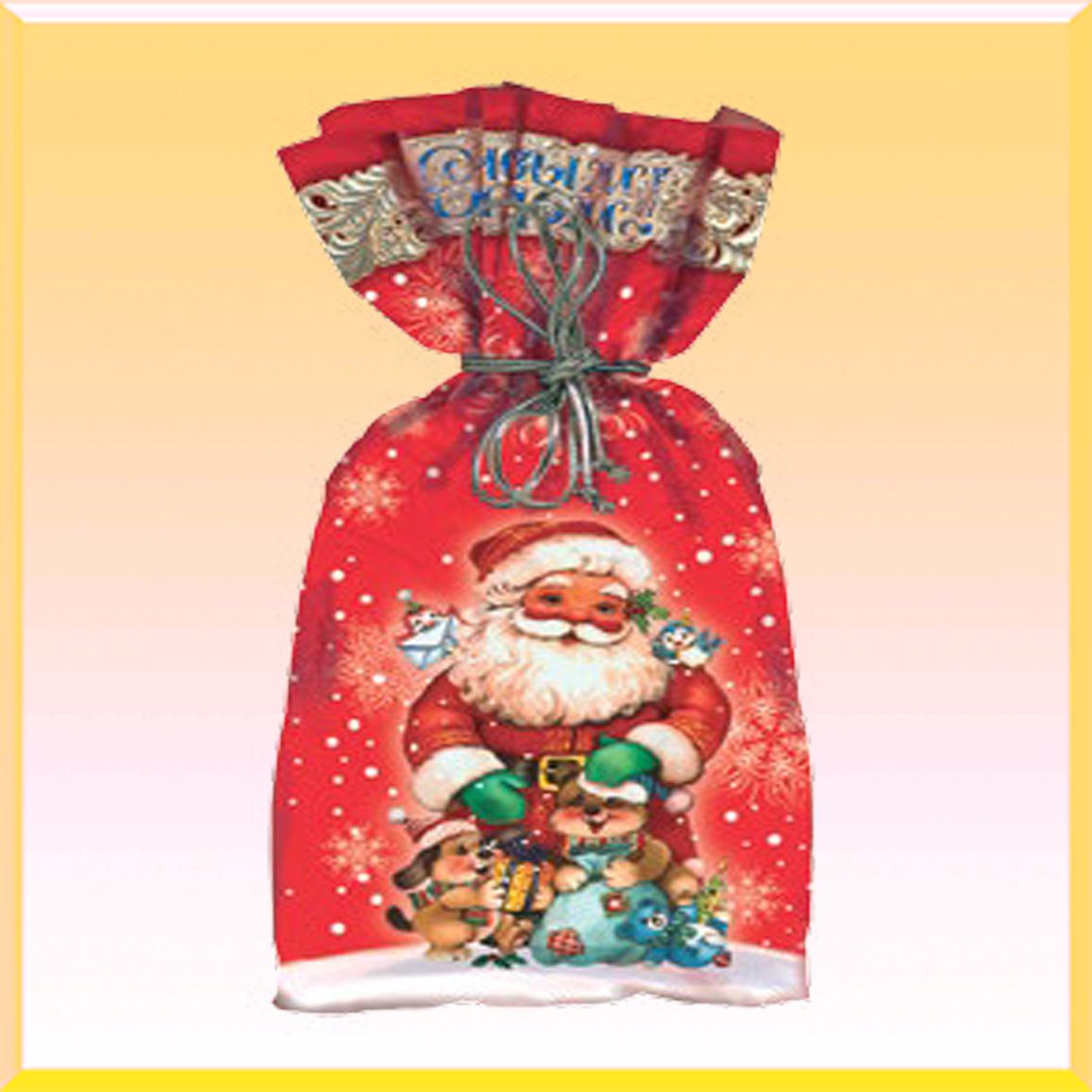 Новогодняя игрушка упаковка для новогодних подарков 533